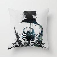 Everyone Deserves A Hero Throw Pillow