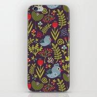 Folk Birds.  iPhone & iPod Skin