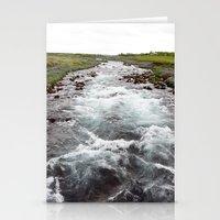down stream Stationery Cards