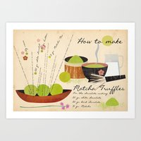 How To Make Matcha Truff… Art Print