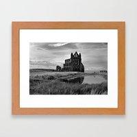 Whitby Abbey  Framed Art Print
