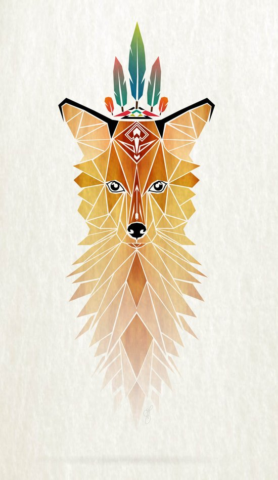 fox spirit  Canvas Print