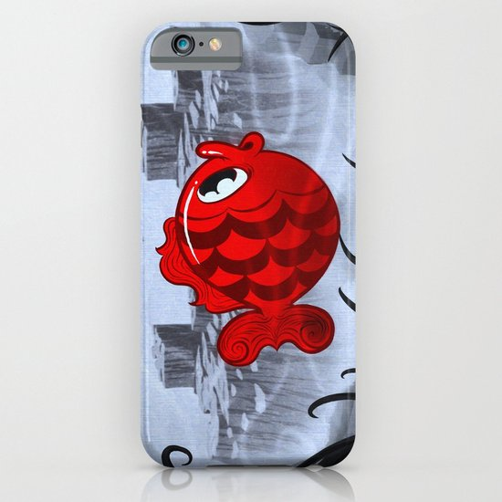 RED & BLUE iPhone & iPod Case