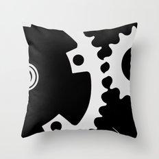 Spacial Movement Throw Pillow