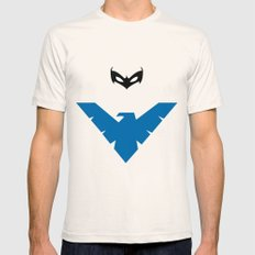 Nightwing Mens Fitted Tee Natural SMALL