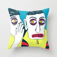 GOSIP Throw Pillow
