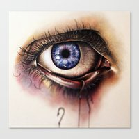 You Caught My Eye (again) Canvas Print