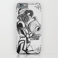 Legend of Zelda Shiek Princess Zelda Geek Line Art iPhone 6 Slim Case
