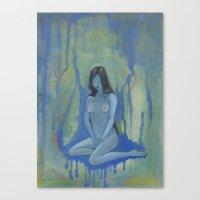 Perawan (Virgin) Canvas Print