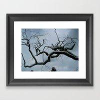 Metal Tree Framed Art Print