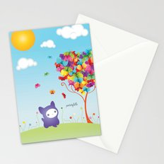 Le Kitteh Stationery Cards