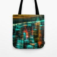 New York - The Night Awa… Tote Bag