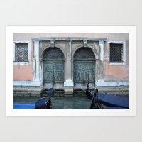 Venice Canal Art Print