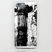 Barbed Wire Fence Post B/W iPhone 6 Slim Case