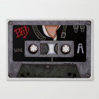 Bad-The Tape Canvas Print