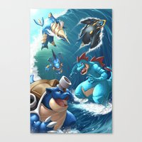Hydro Pump Canvas Print