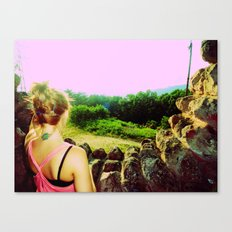 witch`s hat. Canvas Print