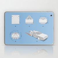 Origami DeLorean Laptop & iPad Skin