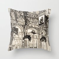 The Ship Public House London Throw Pillow