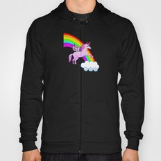 Unicorn and Rainbow Hoody