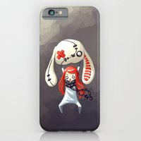 iPhone & iPod Case featuring Bunny Plush by Freeminds