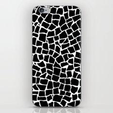 British Mosaic Black and White iPhone & iPod Skin