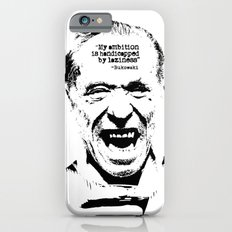 Charles Bukowski Quote Laziness Slim Case iPhone 6s