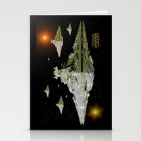 Galactic Battle Cruisers… Stationery Cards