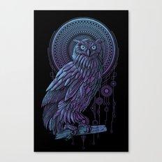 Owl Nouveau II Canvas Print