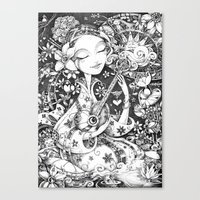 Weeping Widow Canvas Print
