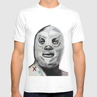 Santo  Mens Fitted Tee White SMALL
