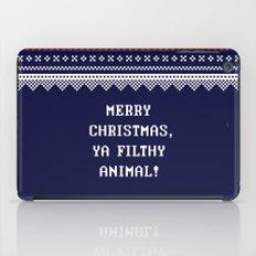 Home Alone – Merry Christmas, Ya Filthy Animal! iPad Case