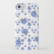 Cape Cod Hydrangeas and Birds iPhone 7 Slim Case