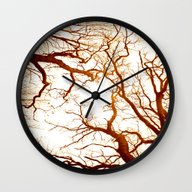 Deep Touching  Wall Clock