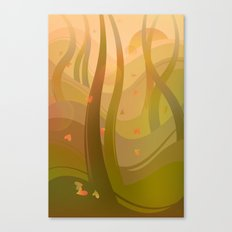 Enchanting Forest Canvas Print
