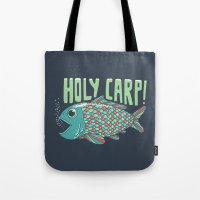 Holy Carp! Tote Bag