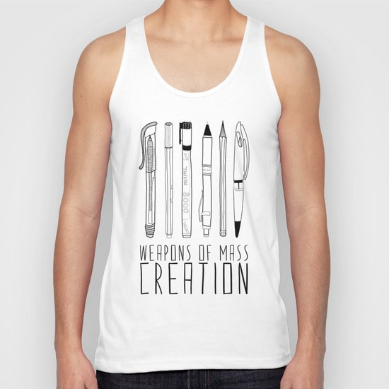 weapons of mass creation Unisex Tank Top