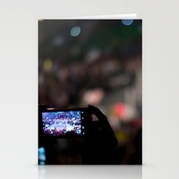 Be careful what you do, you never know who is photographing you. Stationery Cards