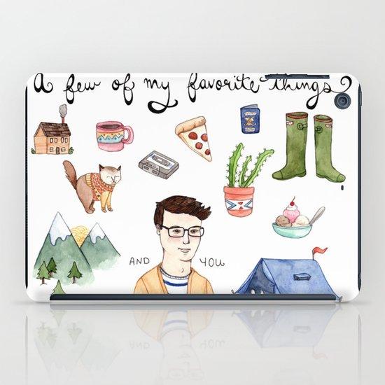 Favorite Things iPad Case