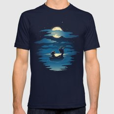 Oceans Mens Fitted Tee Navy SMALL