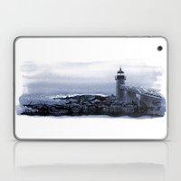 Lighthouse, Marshall Point, Maine Laptop & iPad Skin