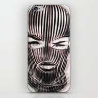 Badwood 3D Ski Mask iPhone & iPod Skin