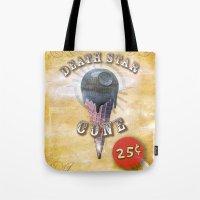 Death Star Cone 25cents Tote Bag