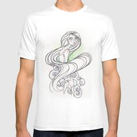 Aisling | Secret Of Kell… Mens Fitted Tee White SMALL