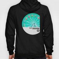 Minty Ferris Wheel Of Ha… Hoody