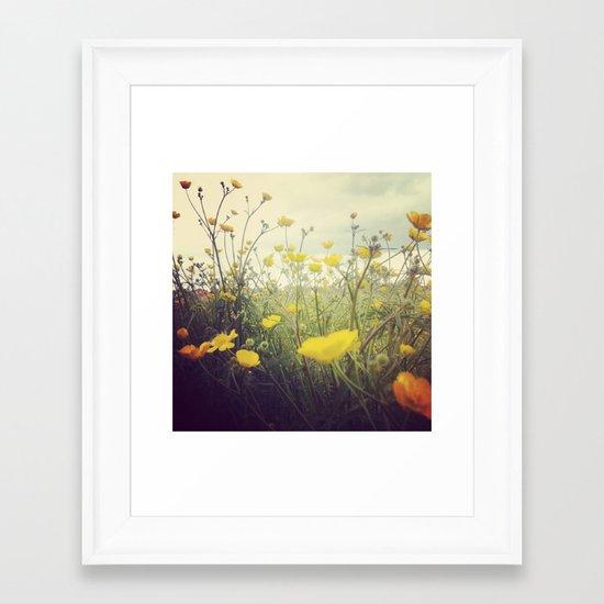MayIdream Framed Art Print