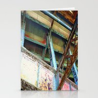 Beams And Girders - Char… Stationery Cards