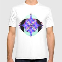 Octagon Mens Fitted Tee White SMALL