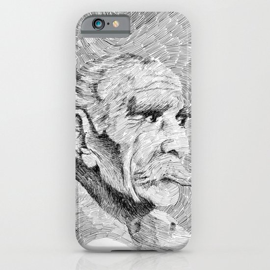 Hombre - black ink iPhone & iPod Case