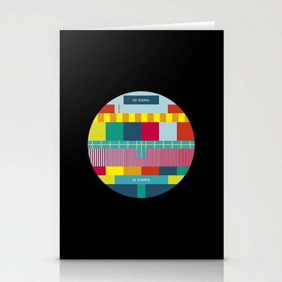 NØ SIGNAℓ Stationery Card